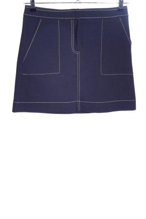 Mango Suit Minirock blau Elegant