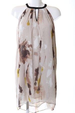 Mango Suit Neckholderkleid abstraktes Muster Casual-Look