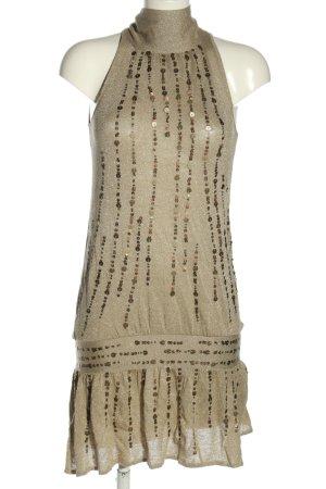 Mango Suit Abito con corpetto bronzo elegante