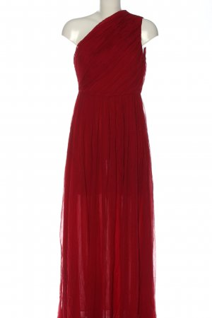 Mango Suit One Shoulder Dress red casual look