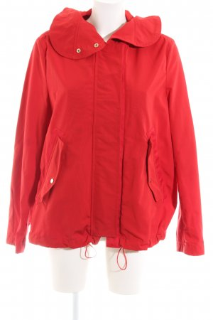 Mango Suit Outdoorjacke rot Casual-Look