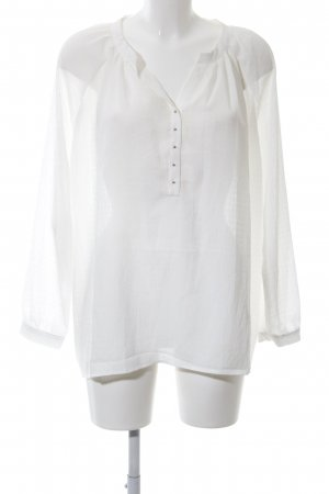 Mango Suit Oversized Bluse wollweiß Business-Look