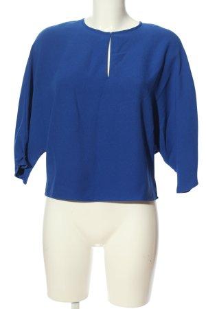 Mango Suit Oversized Bluse blau Casual-Look