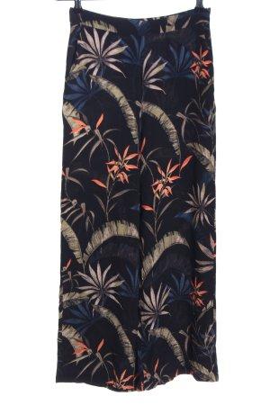 Mango Suit Pallazzohose Blumenmuster Casual-Look