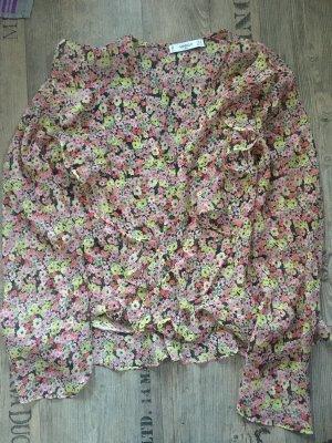 Mango Suit Plissierte Bluse Small