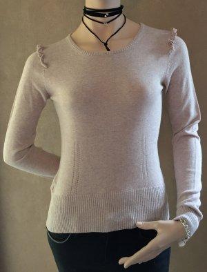 MANGO Suit Pullover mit Rüschen
