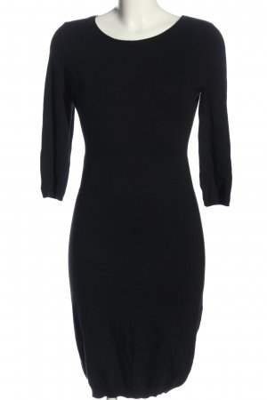Mango Suit Sweater Dress black business style