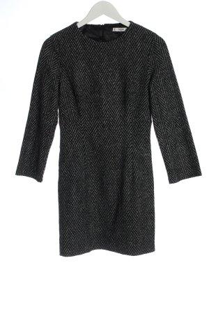 Mango Suit Robe pull gris clair imprimé allover style décontracté