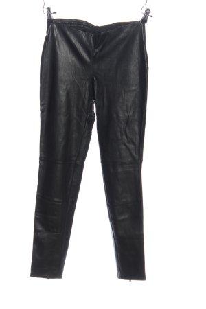 Mango Suit Röhrenhose schwarz extravaganter Stil