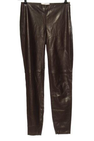 Mango Suit Röhrenhose braun Casual-Look