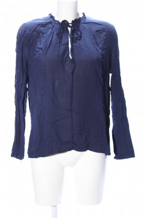 Mango Suit Slip-over blouse blauw casual uitstraling