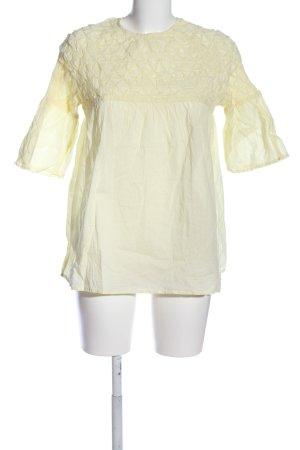 Mango Suit Schlupf-Bluse creme Casual-Look