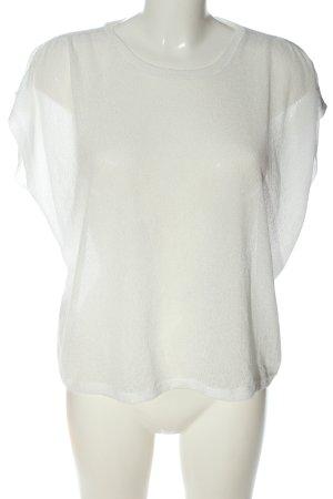 Mango Suit Camicetta da notte bianco elegante