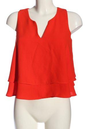 Mango Suit Camicetta da notte rosso stile casual