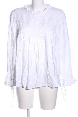 Mango Suit Camicetta da notte bianco stile casual