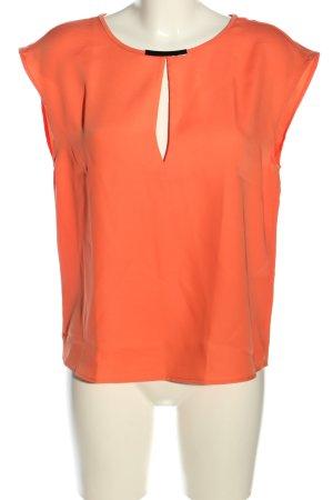 Mango Suit Camicetta da notte arancione chiaro stile casual