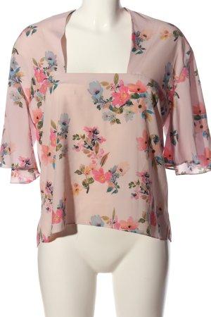 Mango Suit Schlupf-Bluse Blumenmuster Elegant
