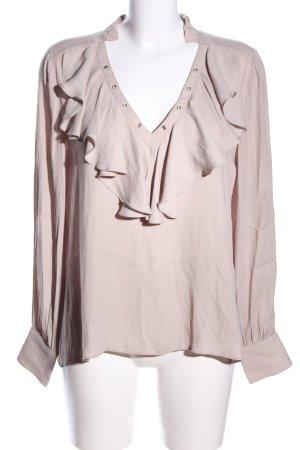 Mango Suit Schlupf-Bluse wollweiß Business-Look