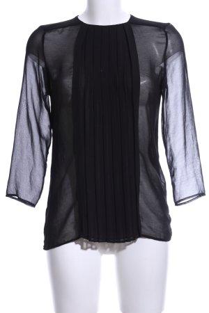 Mango Suit Camicetta da notte nero stile professionale
