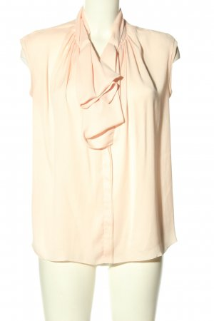 Mango Suit Blouse avec noeuds crème style d'affaires