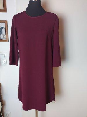 MANGO Suit Shift-Kleid weinrot S/36
