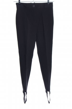 Mango Suit Strapped Trousers black casual look