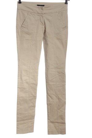 Mango Suit Stoffhose wollweiß klassischer Stil