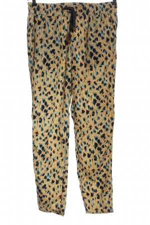 Mango Suit Stoffhose abstraktes Muster Elegant