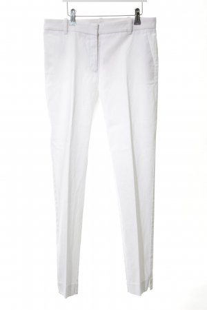 Mango Suit Stoffhose weiß Business-Look