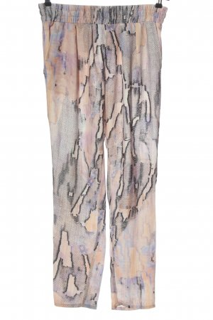 Mango Suit Stoffhose abstraktes Muster Casual-Look