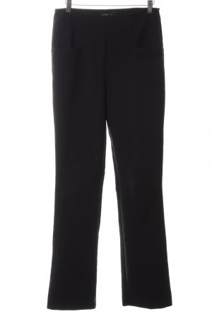 Mango Suit Stoffhose schwarz Business-Look