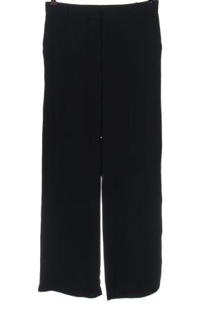 Mango Suit Stoffhose schwarz Casual-Look