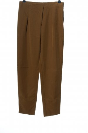 Mango Suit Stoffhose braun Business-Look