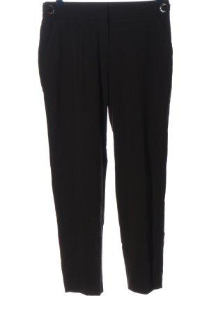 Mango Suit Stoffhose schwarz Business-Look