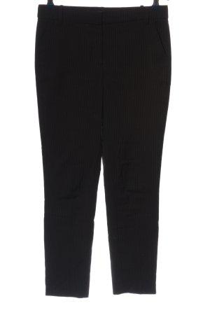Mango Suit Stoffhose braun Streifenmuster Business-Look