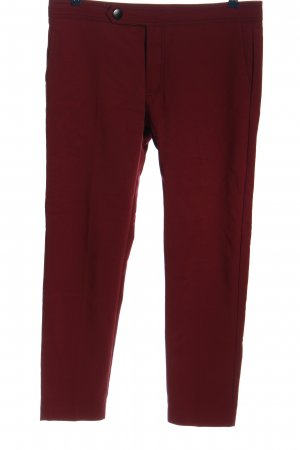 Mango Suit Stoffhose rot Casual-Look