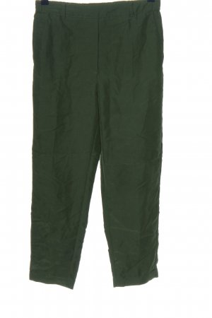 Mango Suit Stoffhose grün Casual-Look