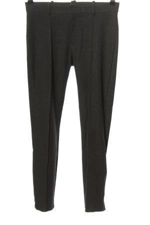 Mango Suit Stoffhose schwarz meliert Casual-Look