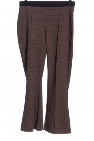 Mango Suit Stoffhose Karomuster Casual-Look