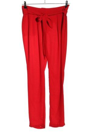 Mango Suit Stoffhose rot Elegant