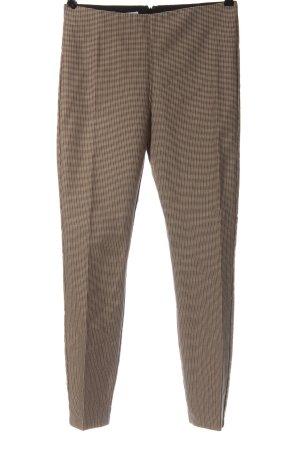 Mango Suit Stoffhose Allover-Druck Elegant