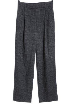 Mango Suit Stoffhose hellgrau Allover-Druck Casual-Look