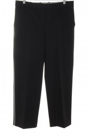 Mango Suit Stoffhose schwarz-weiß Business-Look