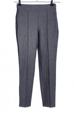Mango Suit Stretchhose hellgrau meliert Business-Look