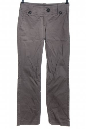 Mango Suit Stretchhose braun Casual-Look
