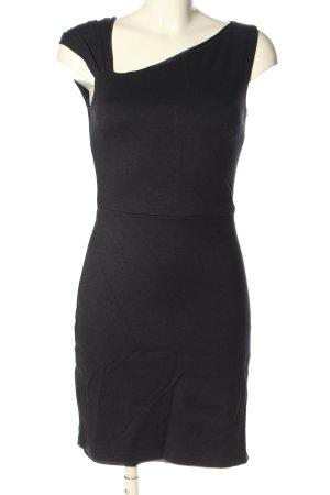 Mango Suit Stretchkleid schwarz Casual-Look