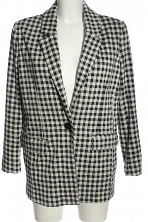 Mango Suit Blazer en maille tricotée imprimé allover style d'affaires