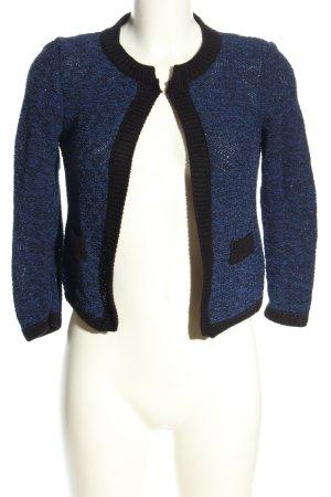 Mango Suit Strickjacke blau Casual-Look