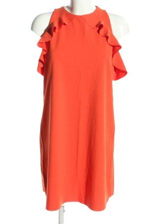 Mango Suit Strickkleid hellorange Elegant