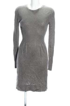 Mango Suit Strickkleid hellgrau Casual-Look